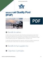 Iata - Iata Fuel Quality Pool (Ifqp)