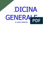 Medicina Generale Ordine Alfab