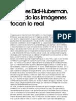 Georges Didi Huberman Cuando Las Imagenes Tocan Lo Real