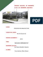 Informe de Maquina Herramienta