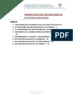 1desordenes Hereditarios Del Metabolismo de Los Ácidos Nucleicos - Indice (1)