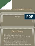 Pipeline Transportation