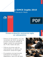 Simce Ingles 2010
