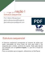 03 - Estrutura Sequencial