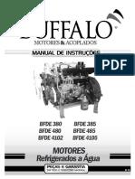 Buffalo - Manual Instruções Motor 3 e 4 Cilindros (Manual de Bomba Injetora)