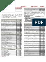 LPN Skills Checklist
