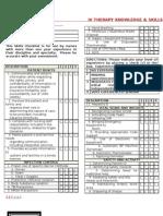 IV Therapy Skills Checklist