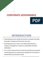 (3)Corporate Governance