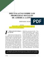 Bernardo Kliksberg - Diez Falacias Sobre Los Problemas Sociales