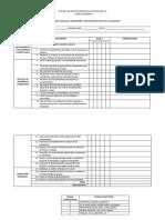 Formato Para Evaluar El Desempeño y Gestion Educativa de Los Docentes