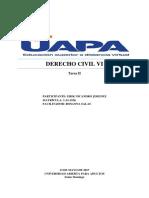 Derecho Civil Vi-tarea II