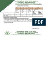Jadwal Remidi Genap TA 2013-2014