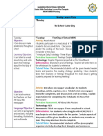 Edu Common Core Lesson Plan Common Core State Standards - Common core aligned lesson plan template