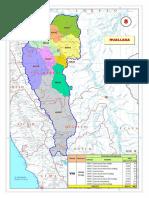 Unidades hidrográficas-Huallaga Mapa