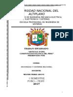 Articulo 206 CONSTITUCION POLITICA DEL PERU