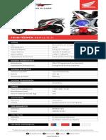Honda New Elite Fi Ficha Tecnica