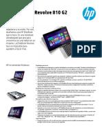HP EliteBook Revolve 810 G2 Tablet PC