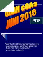 Ujian Coas Juni 2015