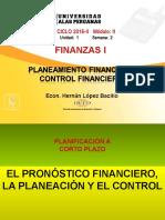 Semana 2 Planeamieto Financiero - Control Finaaciero