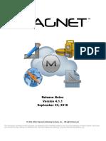 MAGNET v4.1.1 - Release Notes