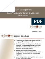 Fixed Assets Best Practices