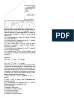 Quimica - Lista 19