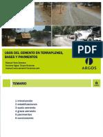 Usos de Cemento en Terraplenes