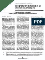 Ajuste Integral Por Inflacion y El Impuesto Extraordinario[1]