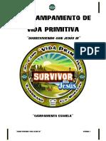 2013 Jun- Manual 3er Camp. Vida Primitiva -Sobreviviendo Con Jesus III