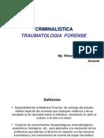 Traumatologia Forense en Criminalistica