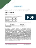Dotaciones y Metodos