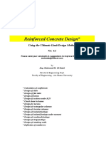 Excel Sheets for RC Design