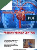 Presion Venosa Central