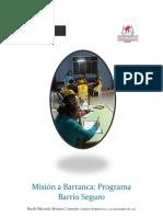 Informe Mision 15 y 16 Nov a Barranca