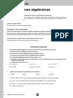 Tema 2 - Expresiones Algebraicas