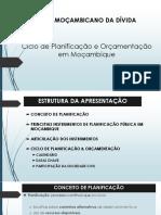 Ciclo de Planificação e Orçamentação Em Moçambique