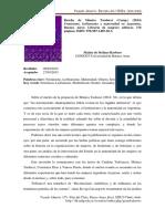 """2015 - De Stéfano - Reseña del Libro """"Feminismo, Lesbianismo y Maternidad en Argentina""""."""