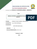 Manejo Integral de RR.ss- Sicaya