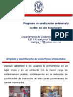 Programasanitizacionambientalcontroldeairehospitalario
