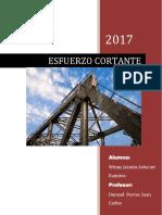 ESFUERZO CORTANTE