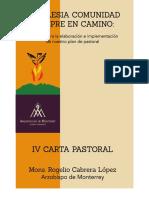 III Carta Pastoral La Iglesia en Camino