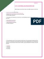 Cuestionario Perforación de pozos