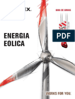 Guia Gruas Terex - Energia Eolica