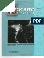 Geocarto - Analysing Spatio Temporal Footprints of Urbanization Surat
