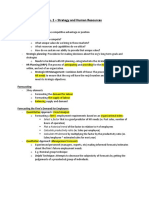Human Resources Notes Ch. 2
