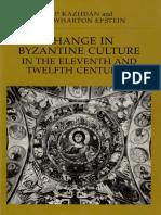 Cambios en La Cultura Bizantina (Ingles)