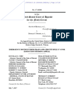 Appeal to Ninth Circuit Court of Appeals regarding Hawaii v. Trump