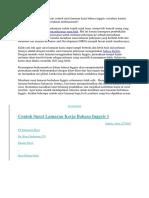 Apakah Kamu Sedang Mencari Contoh Surat Lamaran Kerja Bahasa Inggri2