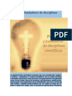 Creyentes Fundadores de Disciplinas Científicas