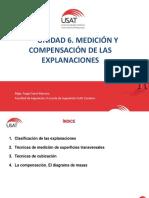 Unidad 7. Medición y Compensación de Las Explanaciones